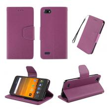 Purple wallet case