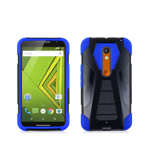 Blue/black transformer fusion case