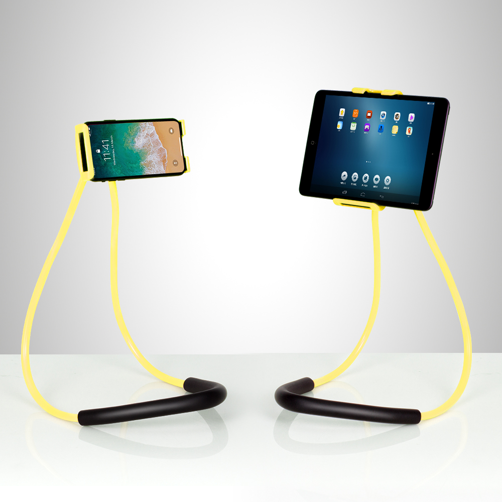 Yellow cell phone holder